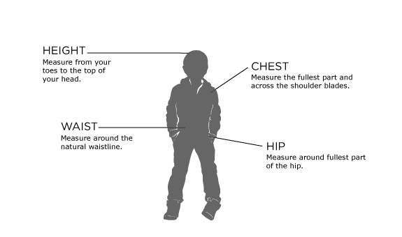 Boys - Size Guides - How Can We Help